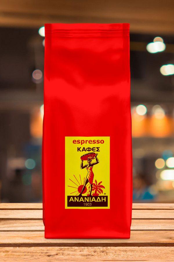 καφές ανανιάδη espresso sopra